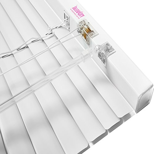 Klemmfix Aluminium Jalousie ohne Bohren inkl. Jalou-Klicks / Weiß 70 x 240 cm (BxH)