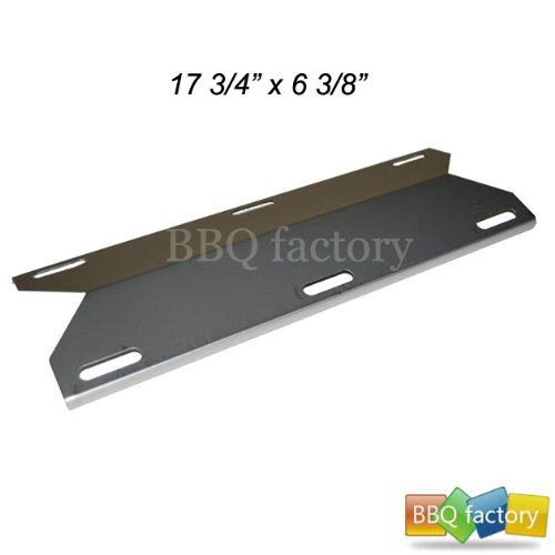 91231 Stainless Steel BBQ Gas Grill Heat Plate / Heat Shield For Mcm, Costco Kirland, Glen Canyon, Jenn-Air, Nexgrill, Sterling Forge, Lowes