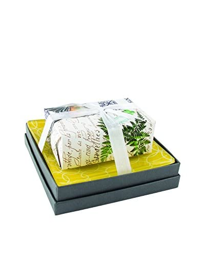 Mudlark Lavender Soap Bar & Dish with Gift Box, Multi
