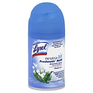 Lysol Neutra Air Freshmatic Automatic Spray Air Freshener, Fresh, 1 Refill, 6.17 Ounce