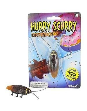 Battery Operated Novelty Toy: Hurry Scurry Cockroach - 1