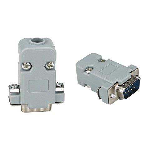 vikins-db9-9-connecteur-male-femelle-db25-25-way-d-sub-noir-avec-capuche-shell