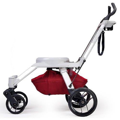 Orbit Baby G2 Stroller Frame Ruby front-294555
