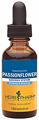 Herb Pharm Certified Organic Passionflower Extract for Mild and Occasional Anxiety