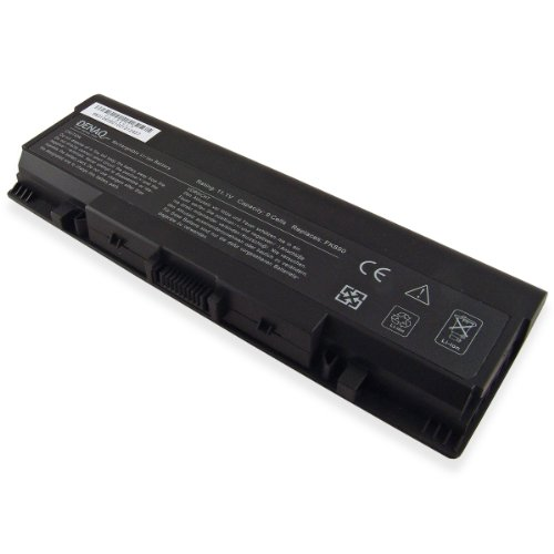 DENAQ 9-Room 85Whr Li-Ion Laptop Battery for DELL Inspiron 1520, 1521, 1720, 1721, PP22L, PP22X; Vostro 1500, 1700