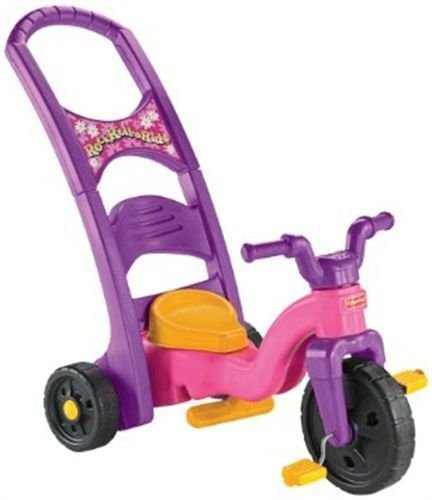 Fisher-Price-Pink-Baby-Toddler-Toy-Rock-Roll-N-Ride-Ride-on-Trike