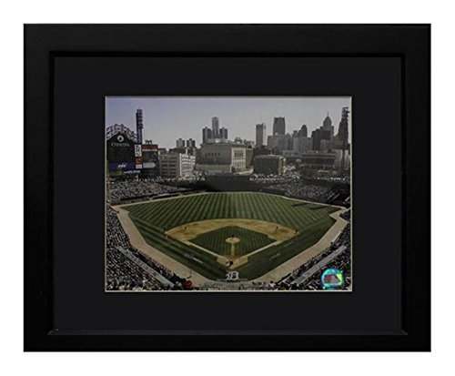 Encore Select 140-63 MLB Detroit Tigers  Deluxe Frame Comerica Park Print, 11-Inch by 14-Inch