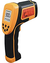 SMART SENSOR Non-contact Digital Laser Infrared IR Thermometer Temperature Gun -58°F to 1652°F (-50 ~ 900℃), Instant Temperature Measurement (AS862A)