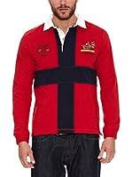Valecuatro Polo Cruz España (Rojo)