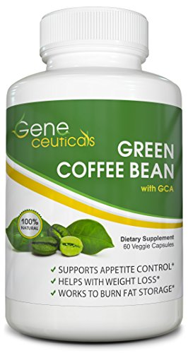 Geneceuticals Green Coffee Bean Extract with GCA - 60 Capsule (Wow Green Coffee compare prices)