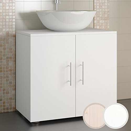 Aquamarin armario para debajo del lavabo aprox 69 35 58 cm disponible en dos colores - Armarios bano amazon ...