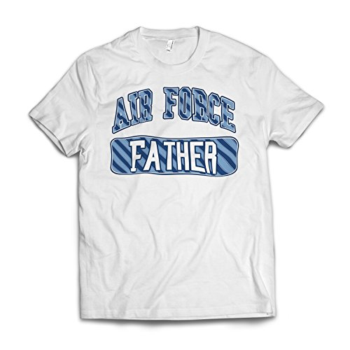 Neonblond Air Force Father, Blue Stripes American Apparel T-Shirt X-Large