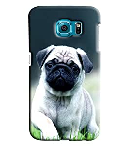 Clarks Hutch Puppy Hard Plastic Printed Back Cover/Case For Samsung Galaxy S7