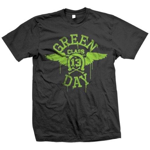 Green Day - Uomo Neon Wings T-shirt - X-Large Nero
