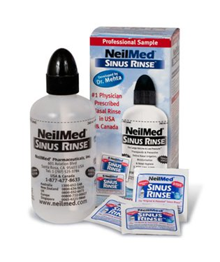 NeilMed Sinus Relief Kit Rinse Bottle & 50 Premixed Packets Makers of Neti Pot (Neti Pot Squeeze Bottle compare prices)