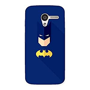 Delighted Blue At Yellow Back Case Cover for Moto X