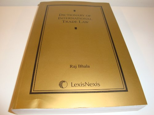 Dictionary of International Trade Law