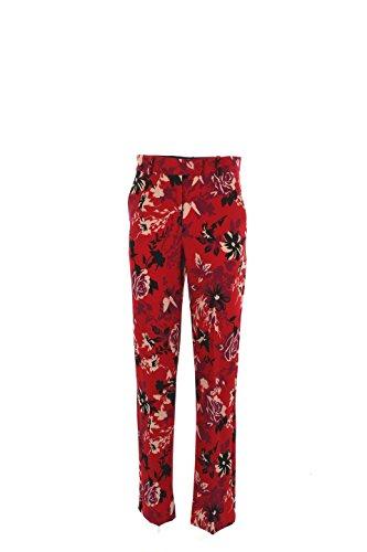 Pantalone Donna Patrizia Pepe 44 Rosso 2p0961/a2ef Autunno Inverno 2016/17