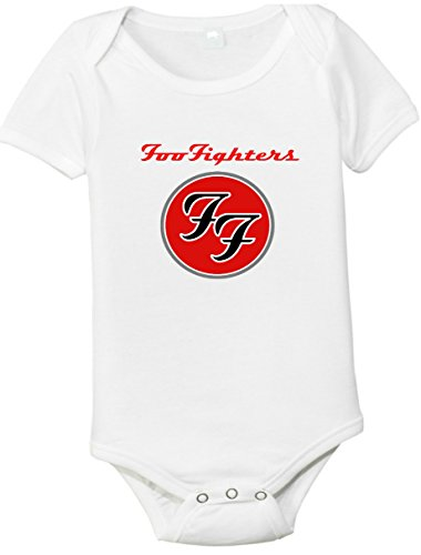 Foo Fighters One-piece Baby Shirt/Bodysuit Red Design