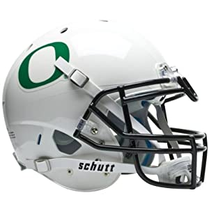 OREGON DUCKS Schutt AiR XP Full-Size AUTHENTIC Football Helmet (WHITE) by ON-FIELD
