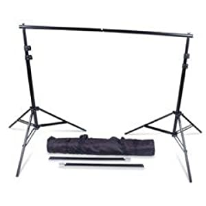New Photography Portable Backdrop Stand Kit Full Size adjustable with carrying bag