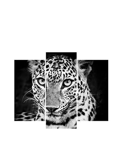 ZZ-Ambiance-sticker Set Vinilo Decorativo 3 Uds. Leopard In Black And White