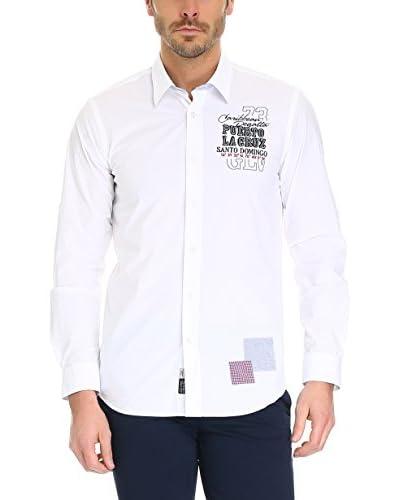 GALVANNI Camisa Hombre Covert Blanco