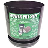 Flower Pot Hidden Can Diversion Safe in Black