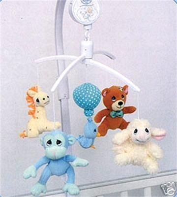 Precious Moments Baby Musical Mobile - Animals - 1