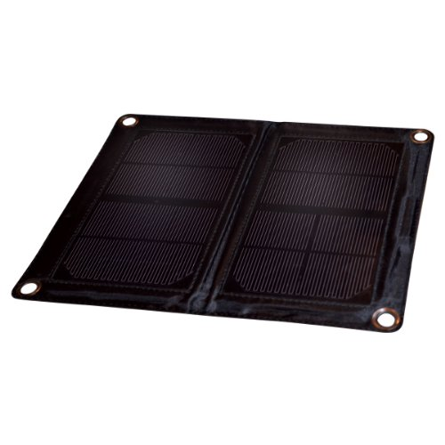 6-Watt Folding Monocrystalline Solar Panel w/