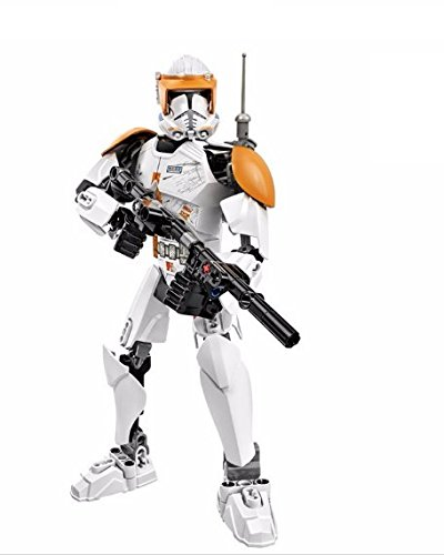 [Clone Commander Cody action figure costume Building Blocks star wars the clone wars] (Star Wars Commander Cody Costumes)