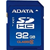 Adata 32GB Class 6 SDHC Memory Card