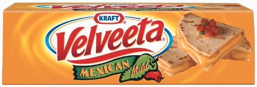Velveeta Loaf Mexican Mild, 16-Ounce Loaves (Pack of 6) (Mexican Cheese Blend compare prices)