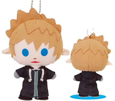 Kingdom Hearts Avatar Roxas Mini Plush Keychain