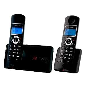 Alcatel Versatis C350 Voice duo Téléphone sans fil avec un combine supplémentaire Noir