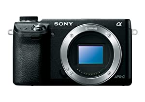 Sony NEX-6/B Compact Interchangeable Lens Digital Camera with 3-Inch LED - Body Only (Black)