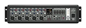 Behringer PMP530M EUROPower Ultra-Compact 300-Watt 5-Channel Powered Mixer with Multi-FX Processor and FBQ Feedback Detection