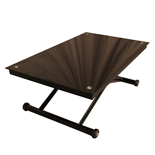 RR-Design-Hhenverstellbarer-Tisch-Glas-Beistelltisch-Wohnzimmer-Esstisch-RR-Design-Ricky-schwarz