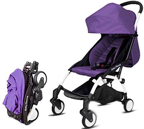Warmword-Folded-Lightweight-Umbrella-Stroller-55-lbs-Purple
