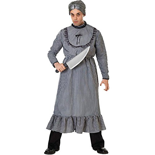 Psycho Mother's Dress Adult Costume (Size: Standard 8-12)