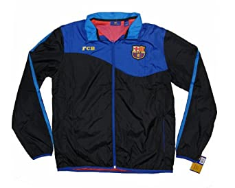 New 2014 F.C.Barcelona Soccer Light Wear Jacket - Size L by F.C. Barcelona