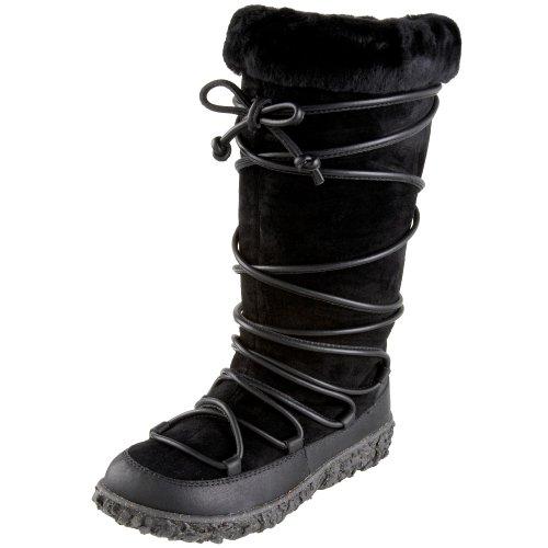 Brodie Women's Heritage Tall Lace Waterproof Wool Boot,Black,6 M US