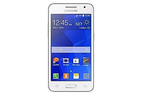 Samsung G355HN Galaxy Core 2 Duos Smartphone débloqué (Ecran: 4.5 pouces) Blanc (import Italie)
