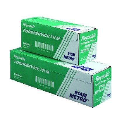 Reynolds Wrap 910M Metro Light-Duty Film with Cutter Box, 12 in. x 2000 ft.-roll