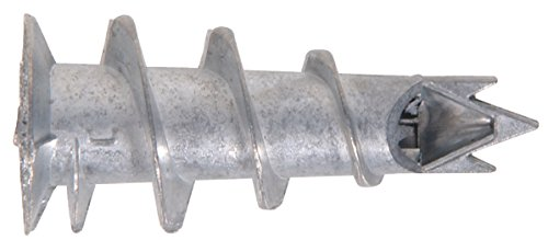 The Hillman Group 375318 Zinc Number-6 Wallboard Anchor, 100-Pack front-547930