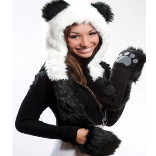 Panda Full Animal Hoodie