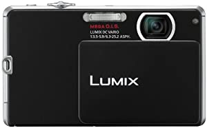 Panasonic Lumix DMC-FP1 12.1 MP Digital Camera with 4x Optical Image Stabilized Zoom and 2.7-Inch LCD (Black)