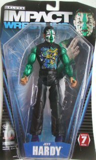 TNA Wrestling Deluxe Impact Series 7 Action Figure Jeff Hardy