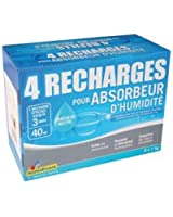Recharge absorbeur - lot de 4 -1 Kg