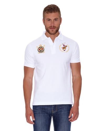 Polo Club Polo Custom Fit Escudo & Logo